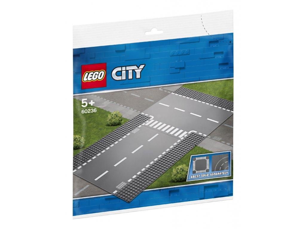 Lego City 60236 Rovná cesta s křižovatkou