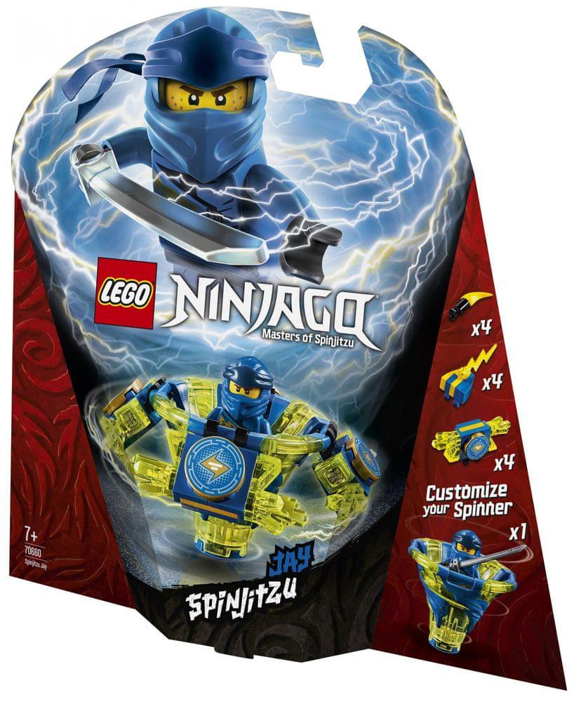 LEGO Ninjago 70660 Spinjitzu Jay