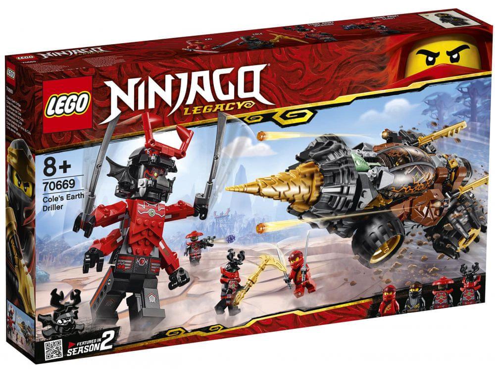 LEGO Ninjago 70669 Coleův razicí vrták