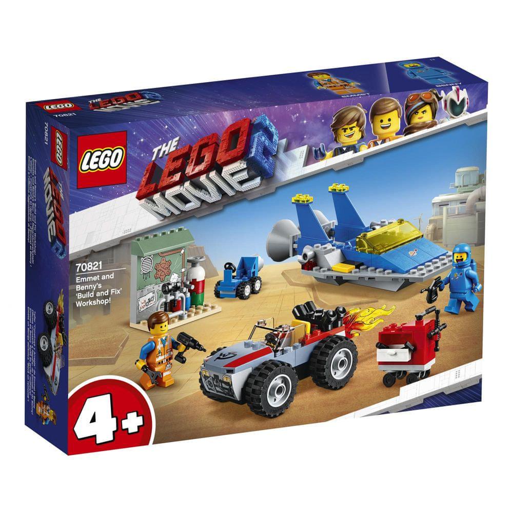 "LEGO Movie 70821 Emmetova a Bennyho dílna ""Postav a oprav to""!"