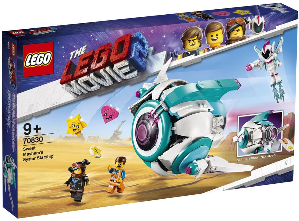 LEGO Movie 70830 Kosmická loď Systargenerálky Mely!