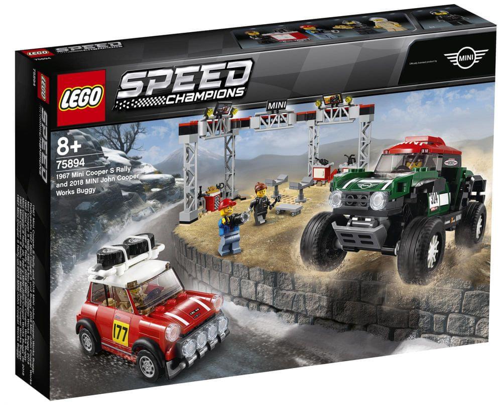 LEGO Speed Champions 75894 1967 Mini Cooper S Rally a 2018 MINI John Cooper Work