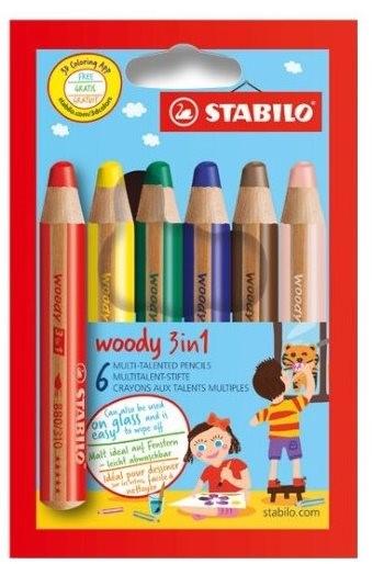 Stabilo Woody 3 v 1