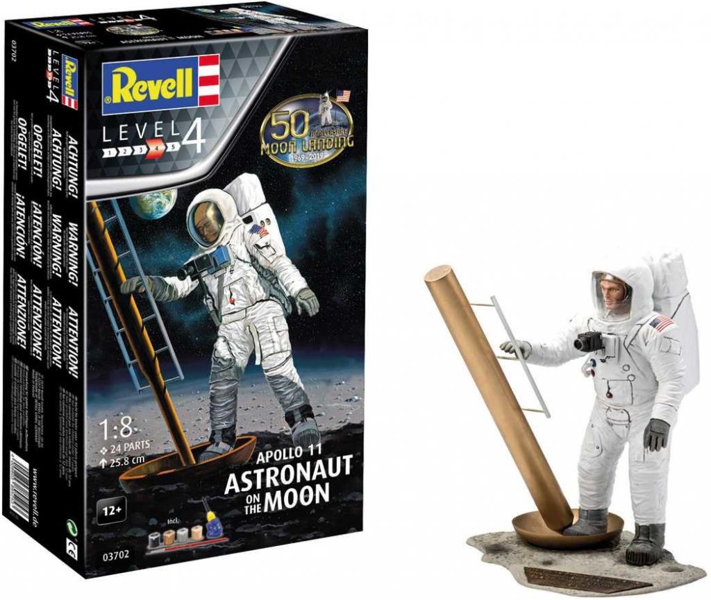 Revell Apollo 11 Astronauti na Měsíci Giftset1:8