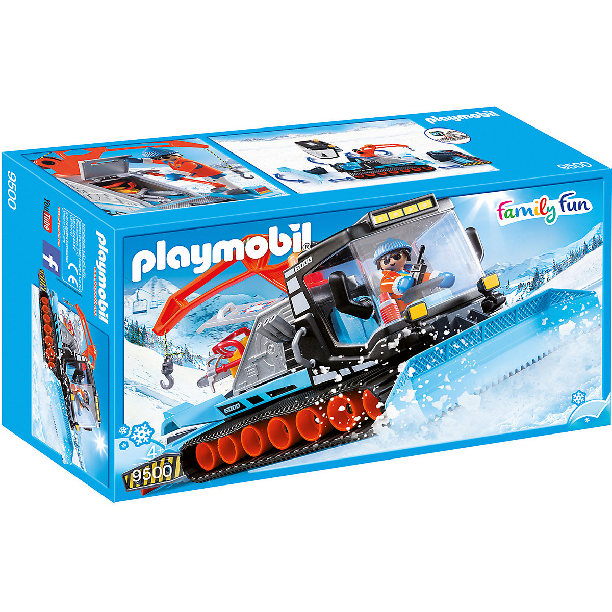 Playmobil 9500 Ratrak