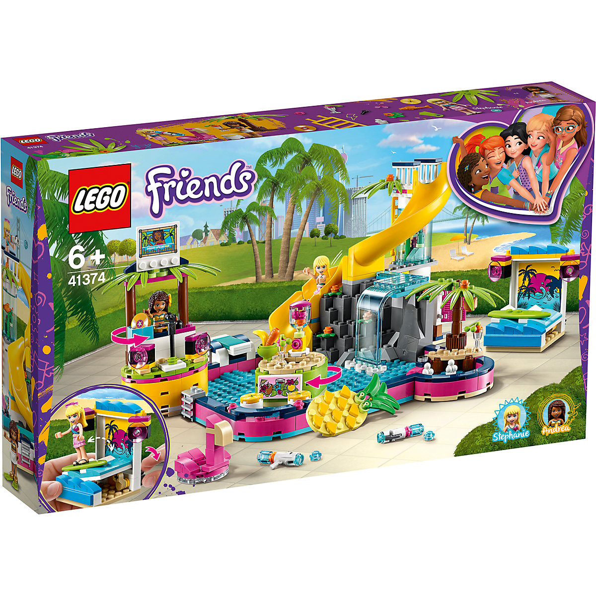LEGO Friends 41374 Andrea a party u bazénu
