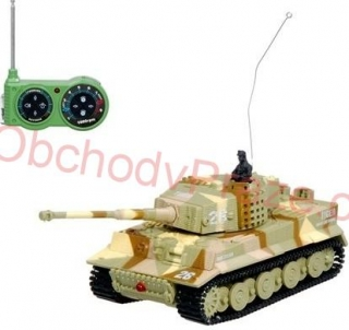 Alltoys RC mini tank Tiger - RTR 1:72