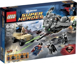 LEGO Super Heroes 76003 SuperMan: Battle of Smallville
