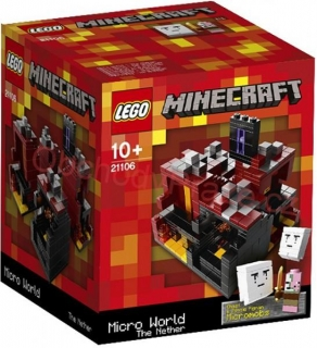 LEGO MINECRAFT 21106 Micro World: The Nether