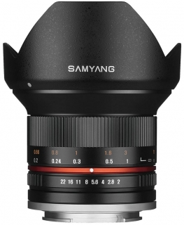 Samyang 12mm f/2 NCS CS Sony NEX