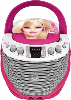Lexibook Barbie CD prekravač+karaoke MP3/MP4