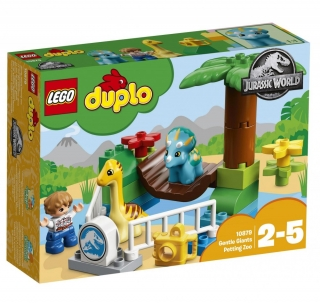 LEGO DUPLO 10879 Jurský svět Gentle Giants Petting Zoo