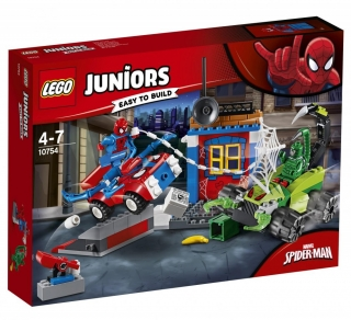 Lego Juniors 10754 Spider-Man vs. Scorpion Souboj na silnici