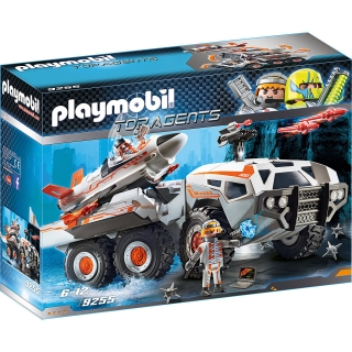 Playmobil 9255 Spy Team bojový vůz