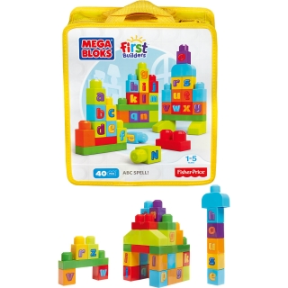 Mega Bloks First Builders ABC kostky