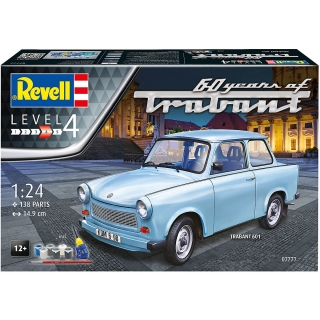 Corfix Gift Set auto 07777 Trabant 601S 60 Years of Trabant 1:24