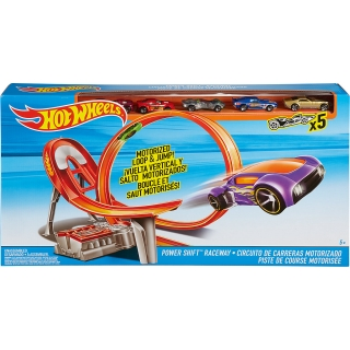 Mattel Hot Wheels Power Shift zavodní dráha