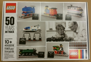 Lego 4002016 50 Years on track