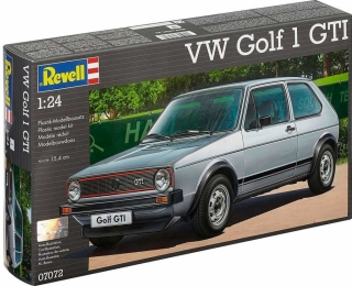 Model Kit Revell Plastic car 07072 VW Golf 1 GTI 1:24