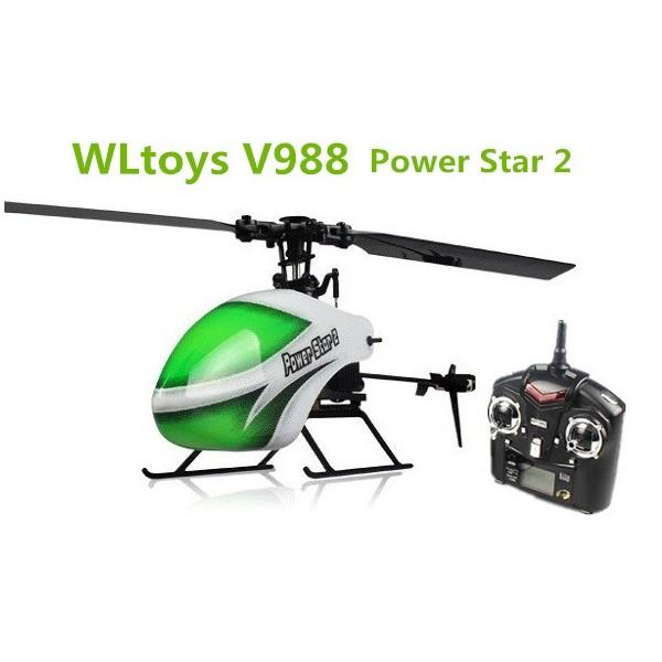 WL Toys V988 RTF RC mini vrtulník, 4 Ch, 2,4 GHz, flybarless