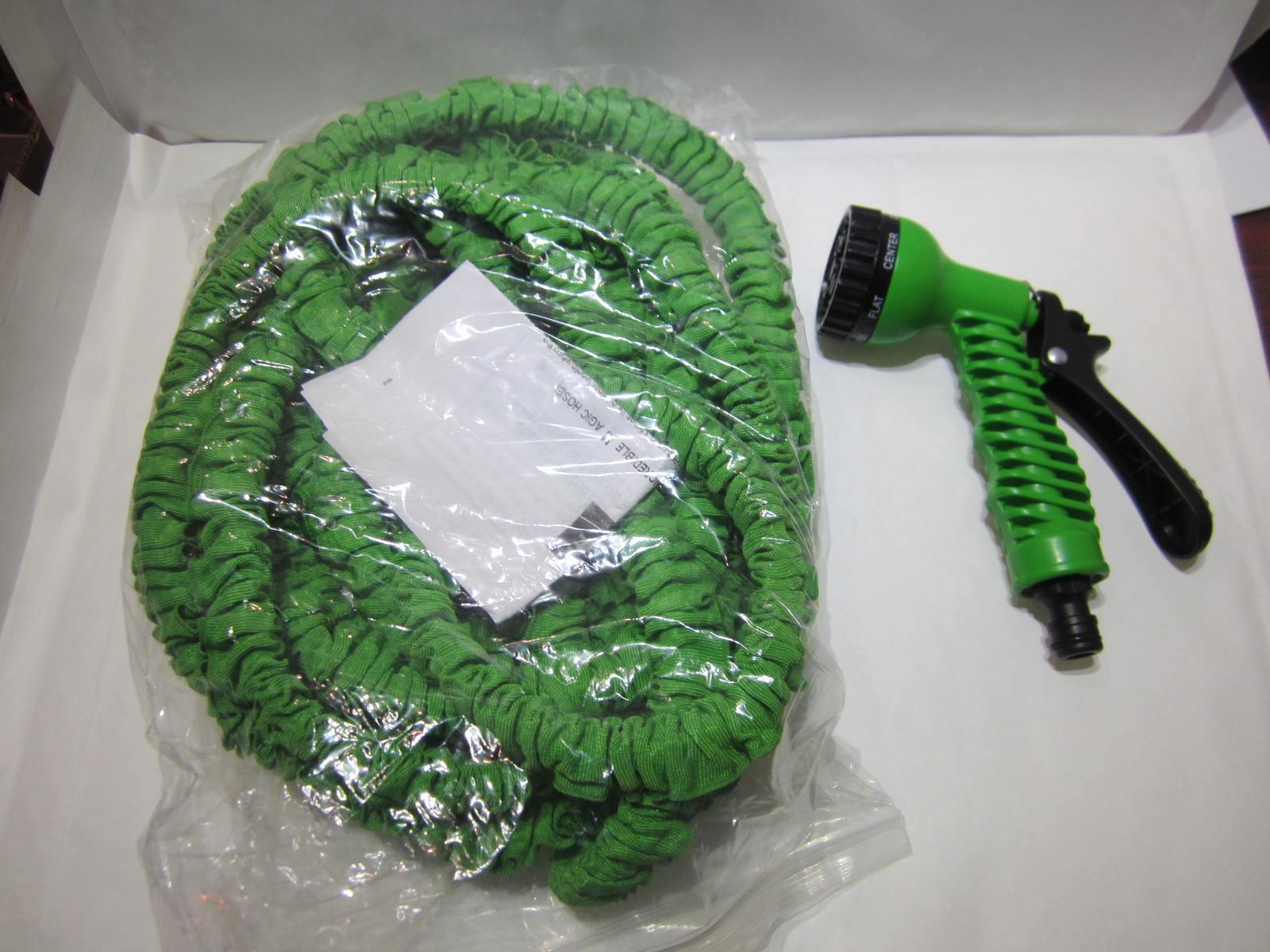Magg 8080 zahradní smršťovací hadice 7,5-22,5m se stříkací pistolí