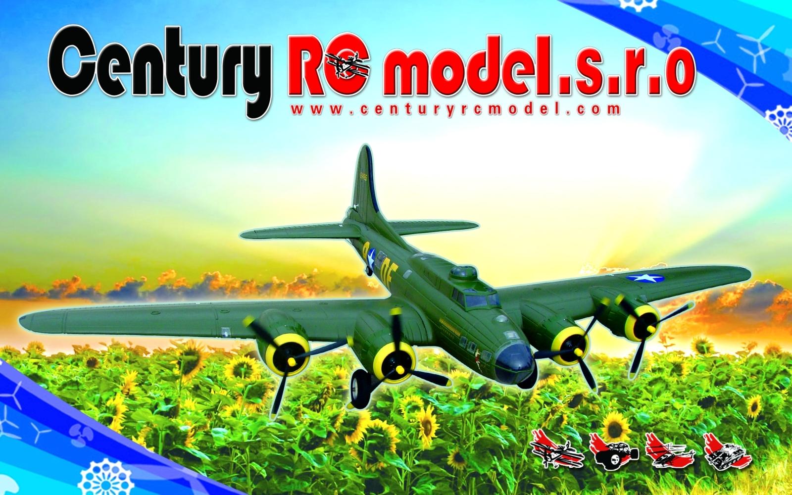Velký LX B-17 8CH RTF