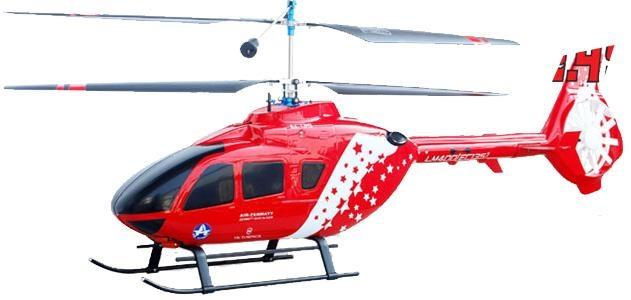 RC vrtulník Walkera LAMA400 EC135 2.4GHz RTF