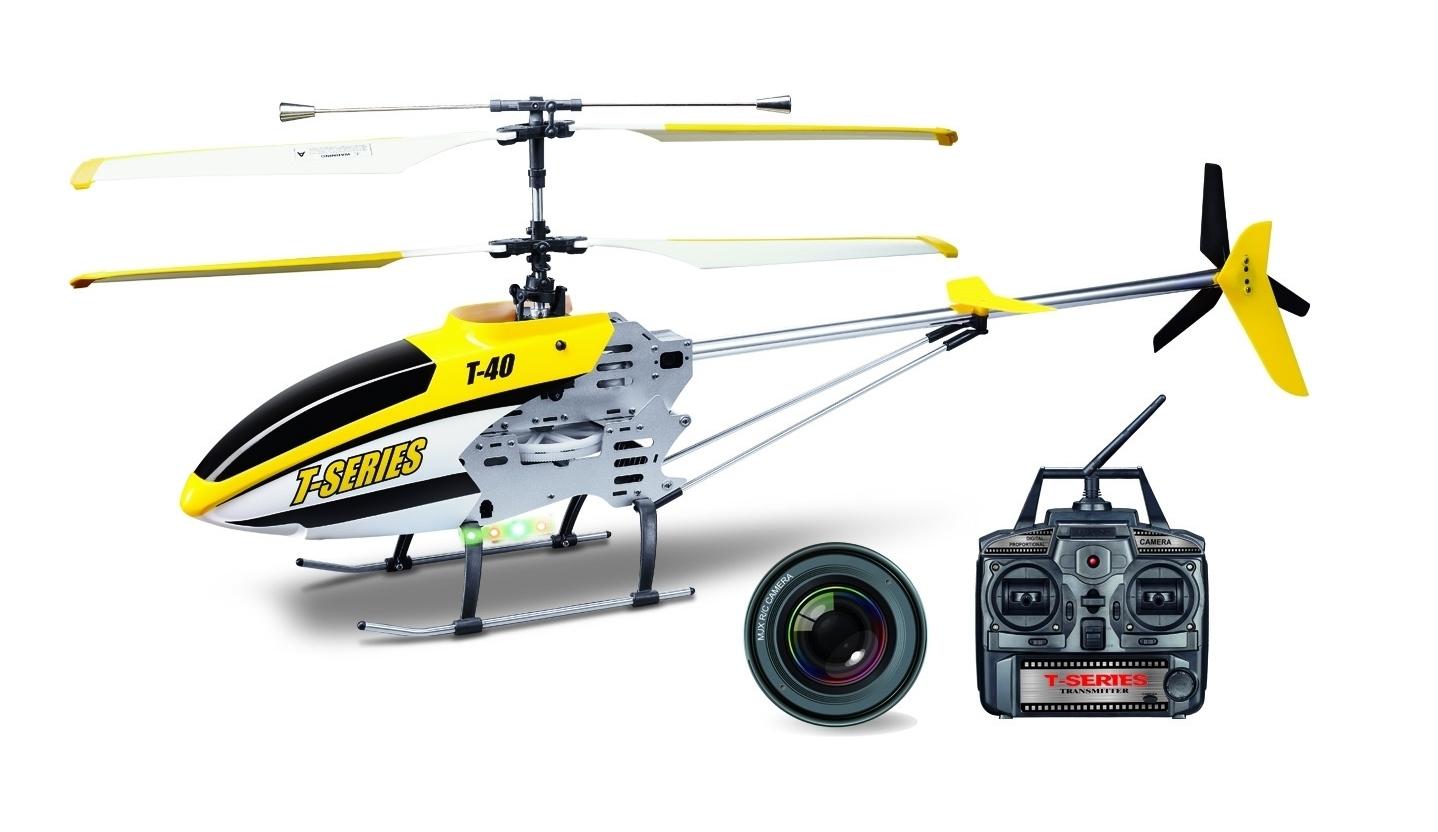 RC vrtulník s kamerou MJX R/C technic T640c 3,5CH servo RTF