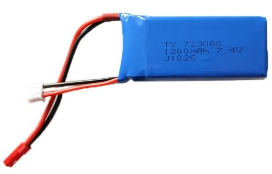 RC baterie 7.4V 1200mah pro RC V666,V353,V262