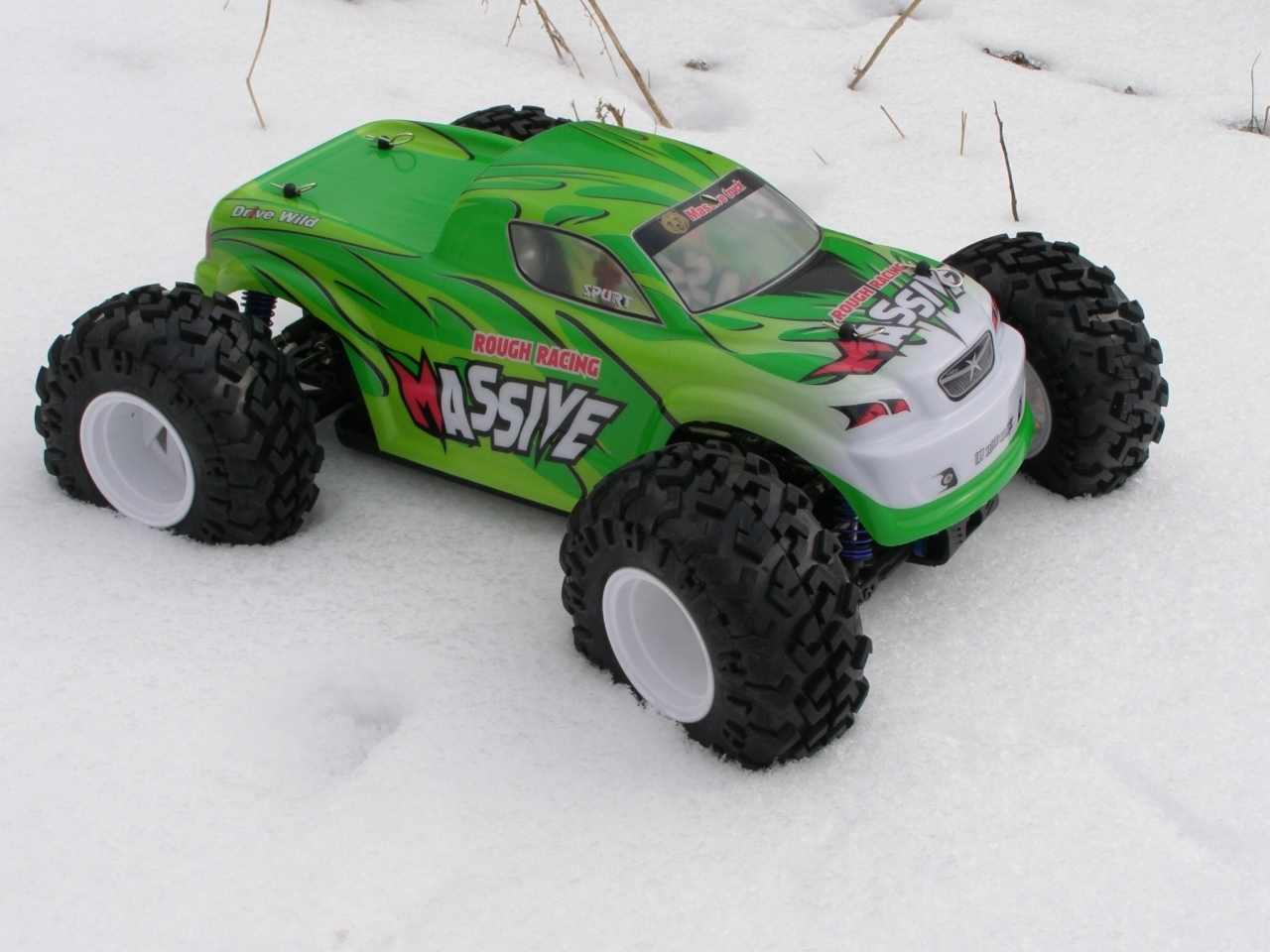 HBX 6598A Massive brushless 1:10 4WD RTR