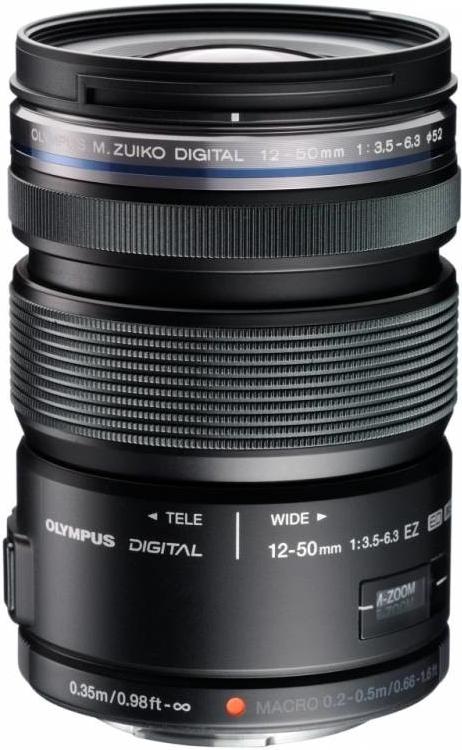 Olympus ED 12-50mm f/3.5-6.3 EZ černý