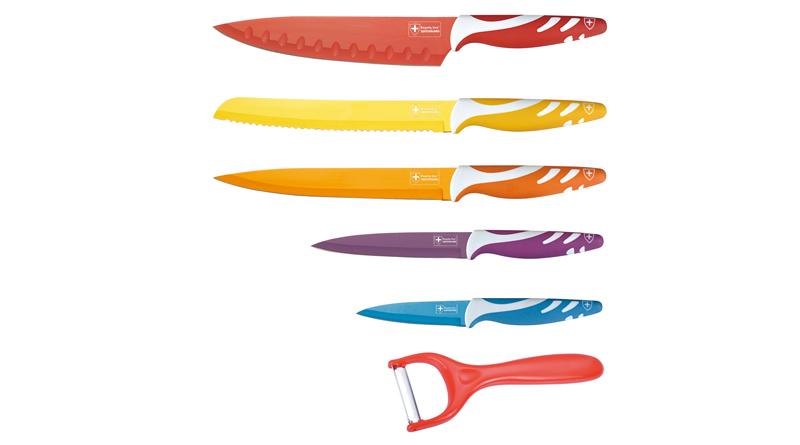 ROYALTY LINE RL- Col 5 - Sada 5 nožů, škrabka