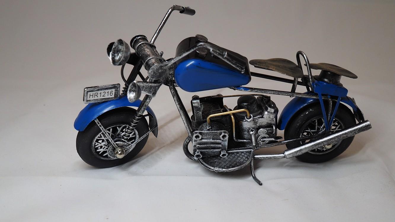 Dekorační motorka dl. 18cm