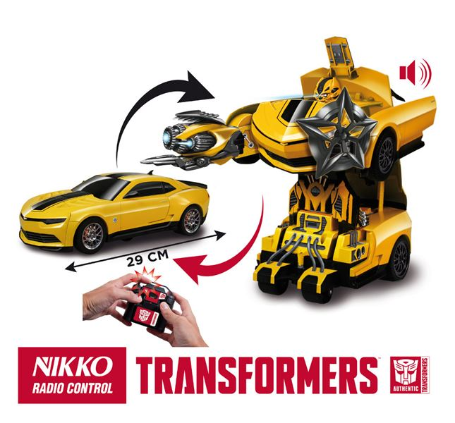 Nikko Autobot Bumblebee car/robot transformer