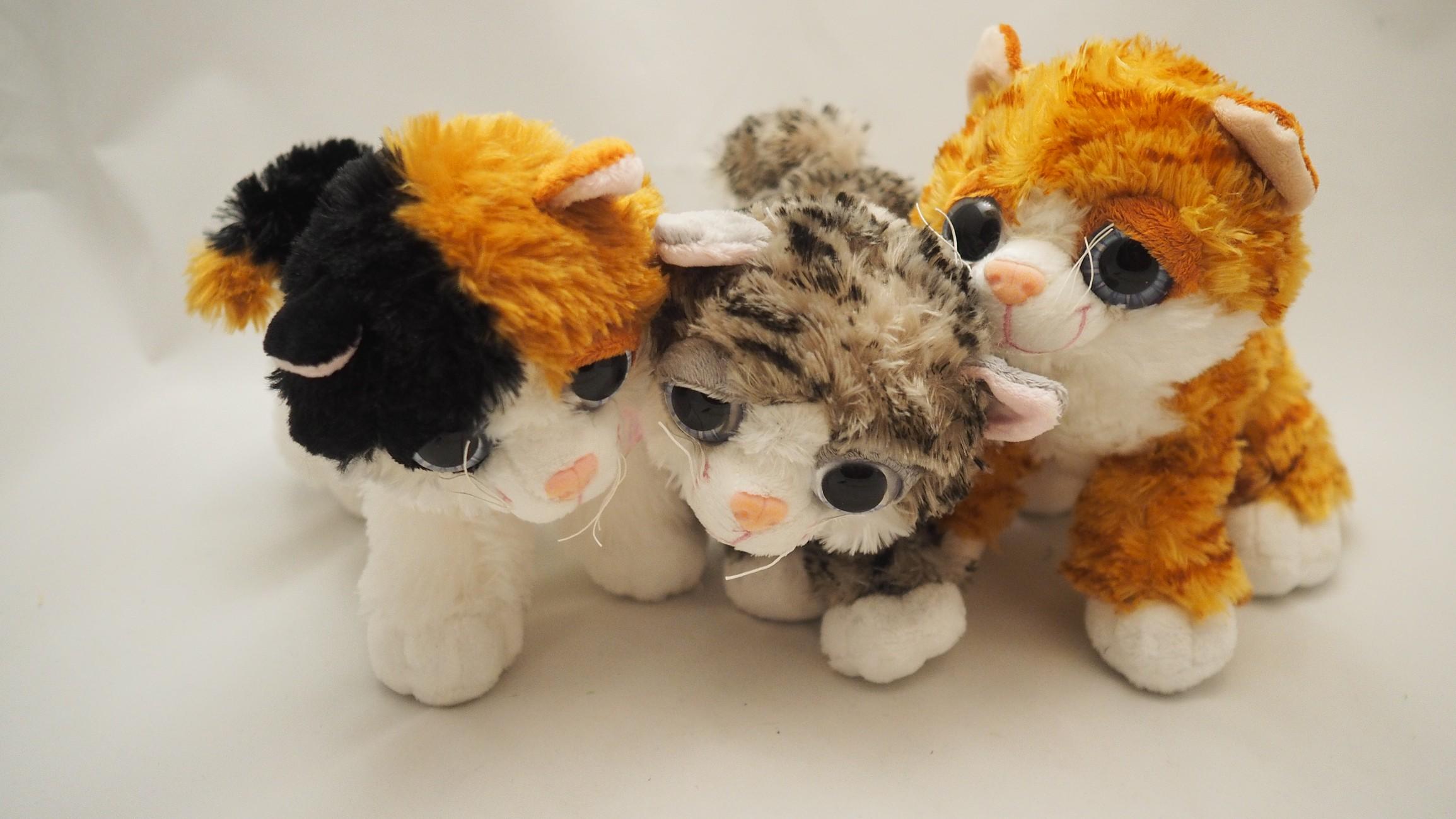 Plyšové kočičky (30 cm)