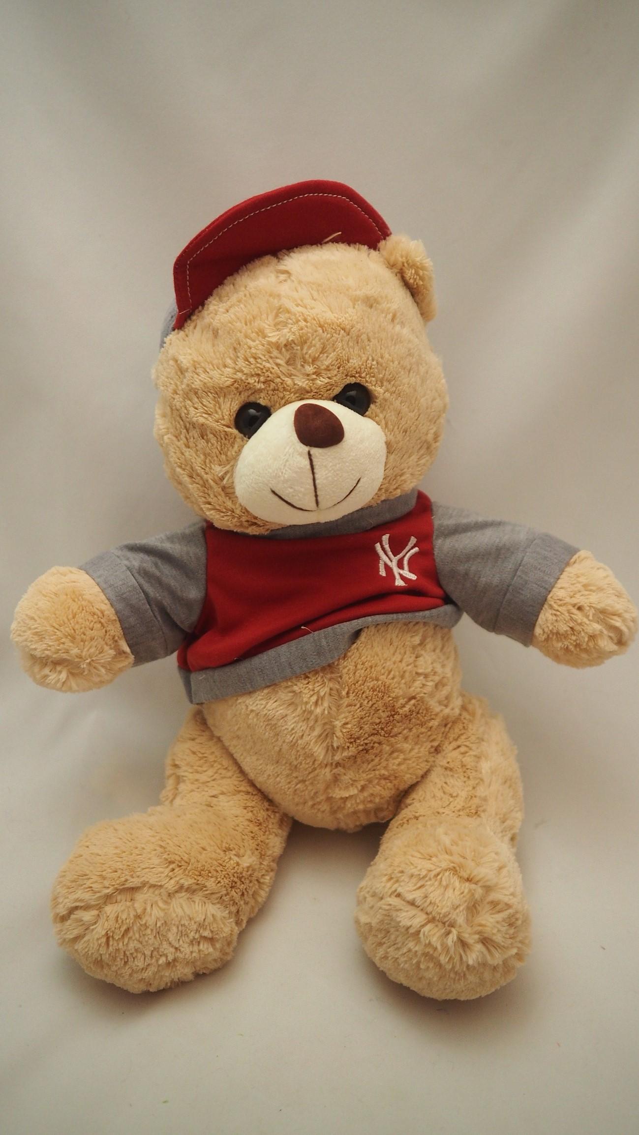 Plyšový medvídek v tričku NY