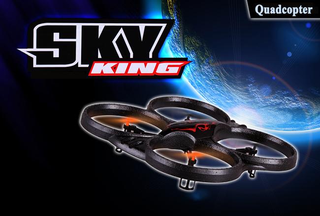 SKY KING  X-39V Quadrokoptera s kamerou 2.4Ghz