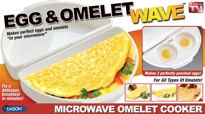 Nádoba na přípravu omelet v mikrovlnce