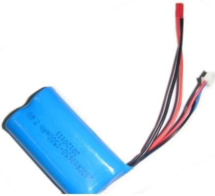 F 45, T 23, T 55 baterie Li-ion 7,4 V 1500 mAh, F645-022