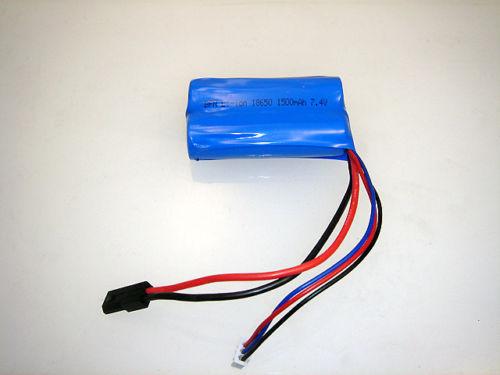 MJX T40,T640 baterie Li-ion 7,4 V 1500 mAh