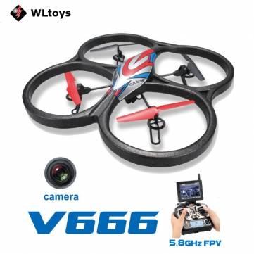 WL Toys V666 set kvadrokoptéry 2.4+5,8 GHz