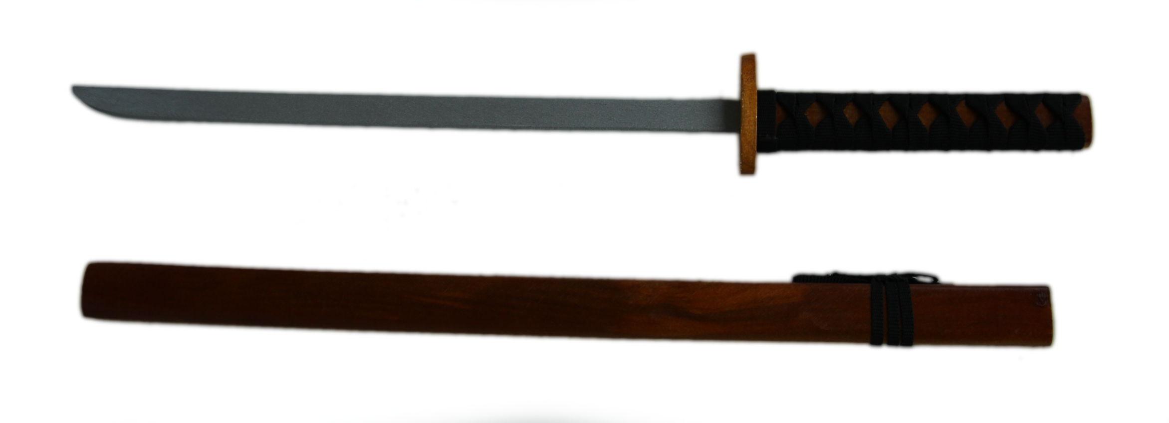 Dřevěná katana 74cm