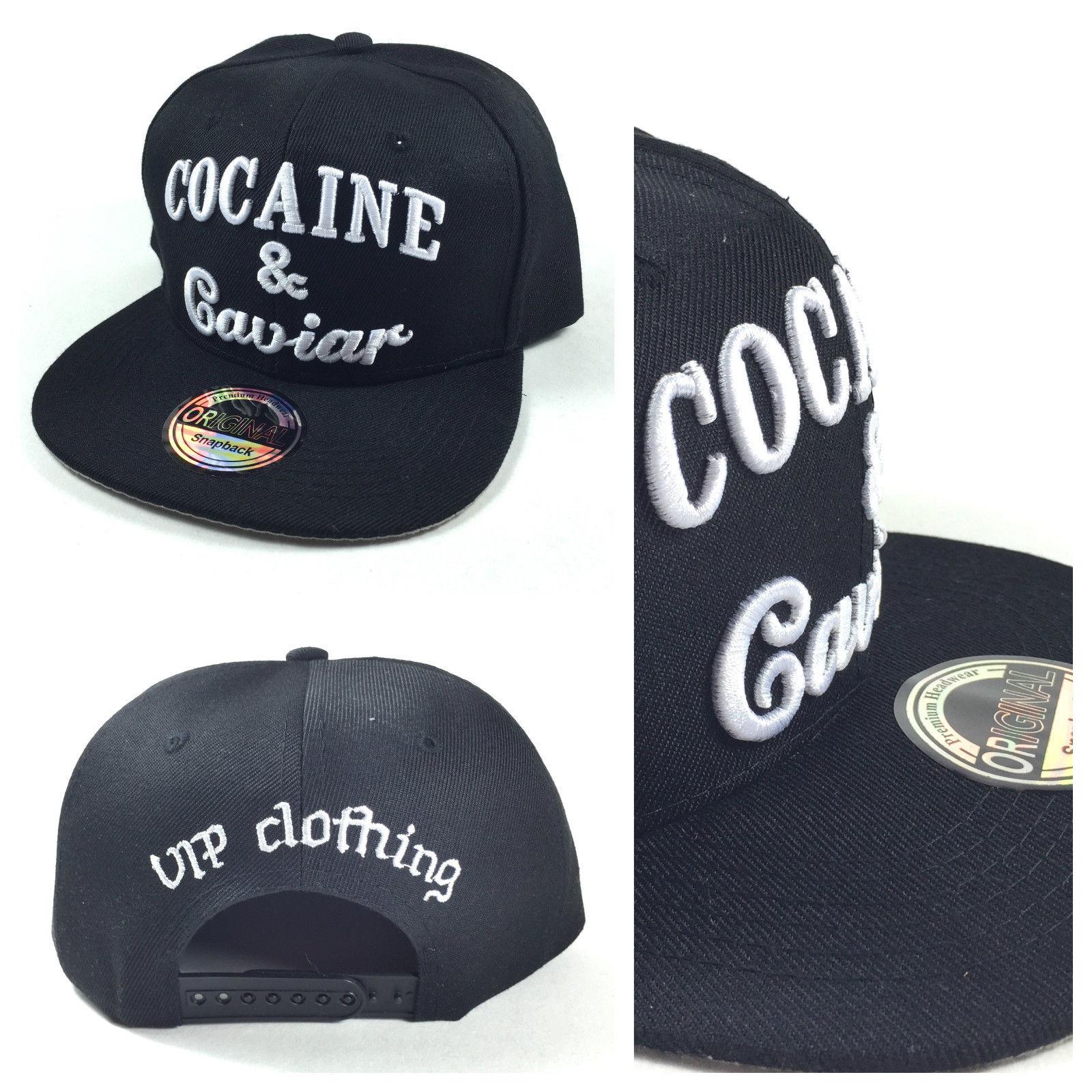 Cocaine & Caviar černá kšiltovka
