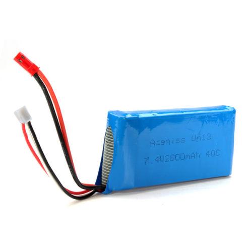 RC baterie 7.4V 2800mAh 40C