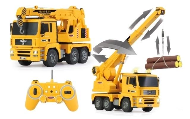 Alltoys RC auto Ramenový otočný jeřáb MAN Truck 1:20