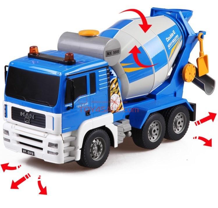 Alltoys RC auto Domíchávač betonu MAN Truck 1:20