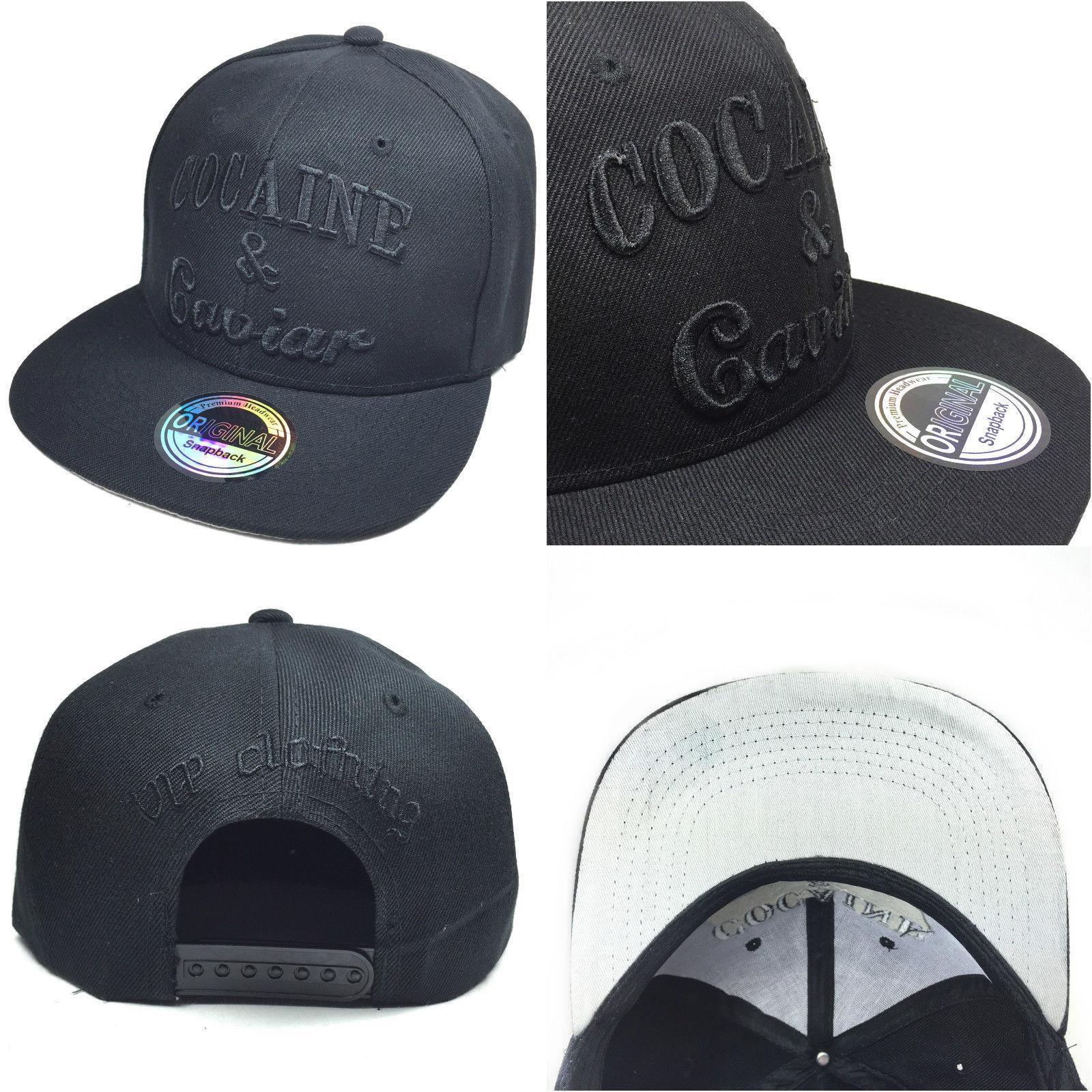 Cocaine & Caviar černé logo kšiltovka