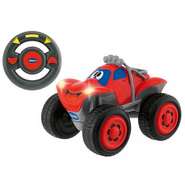 Chicco Auto terénní na dálkové ovládání červené