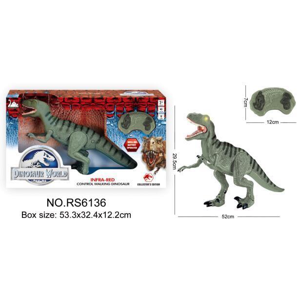 Alltoys RC Jurský Park Tyranosaurus Rex zelený