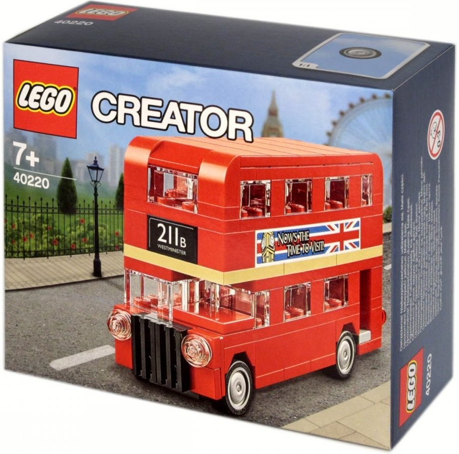 LEGO Creator 40220 London Red Double Decker Bus